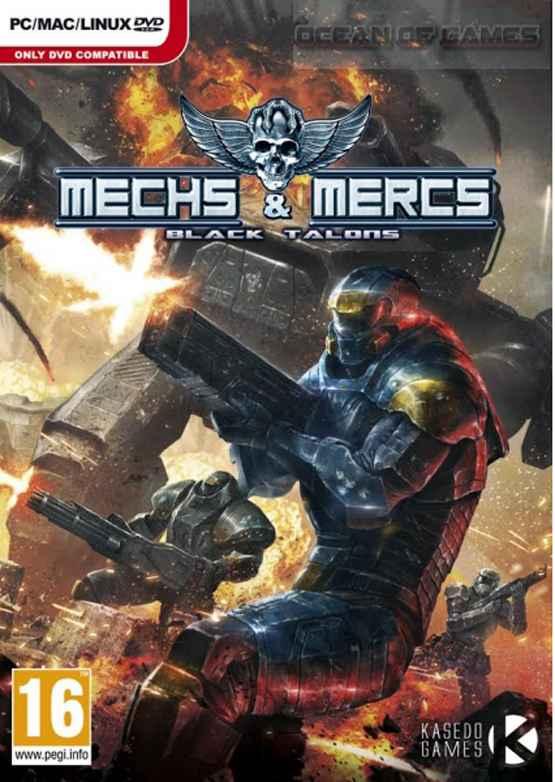 Mechs-and Mercs Black Talon Setup Download For Free