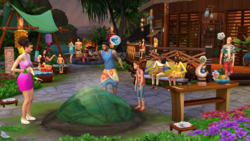 The Sims 4 With All DLCs and Updates Incl Island Paradise Free Download