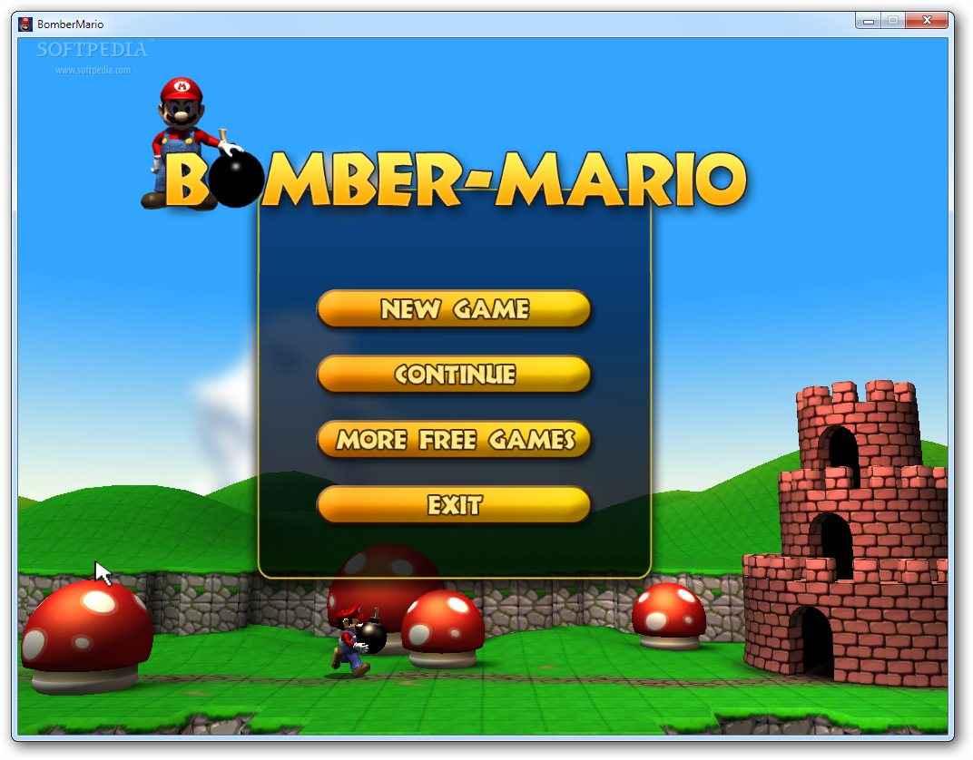 Bomber Mario free download