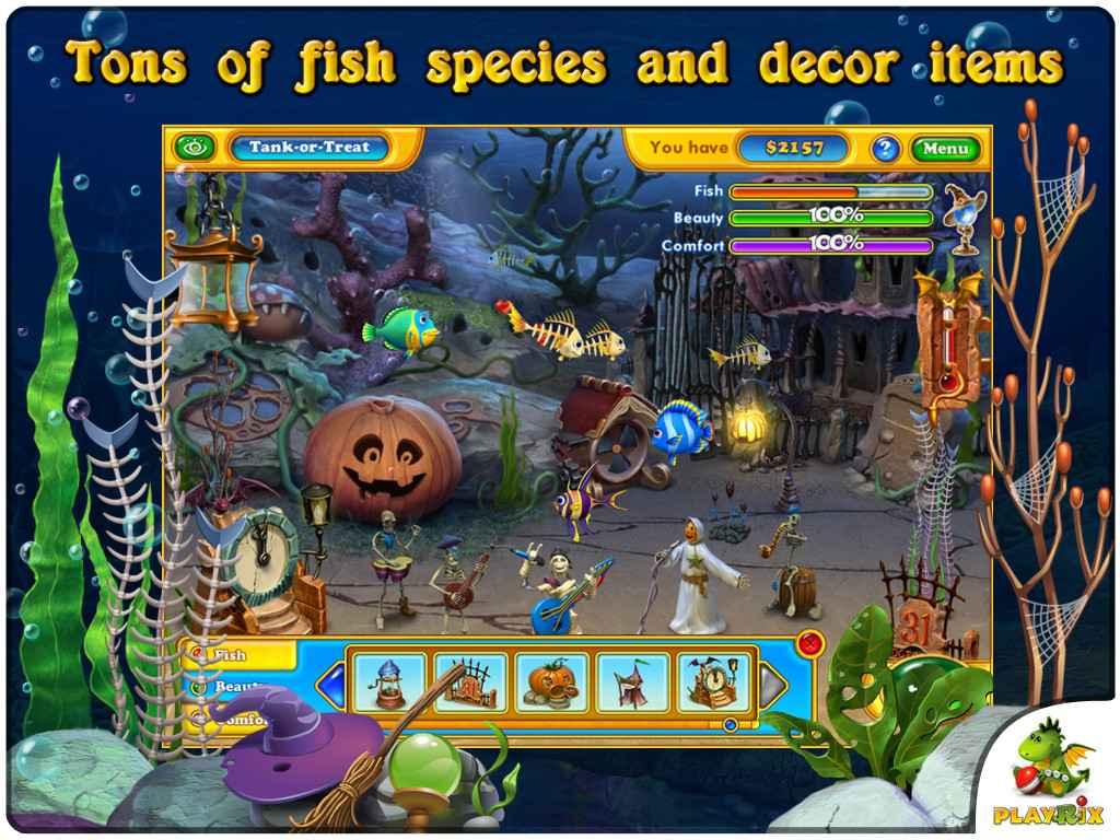 Fishdom Spooky Splash 1