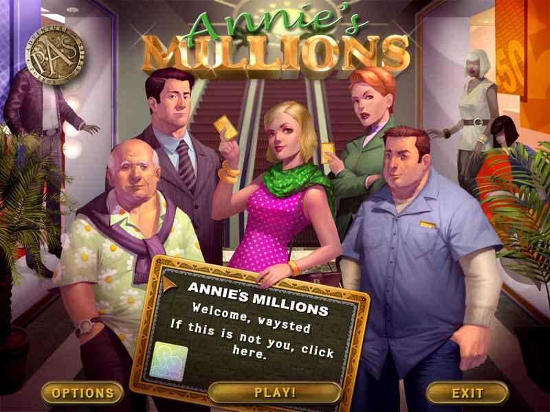 annie millions free download