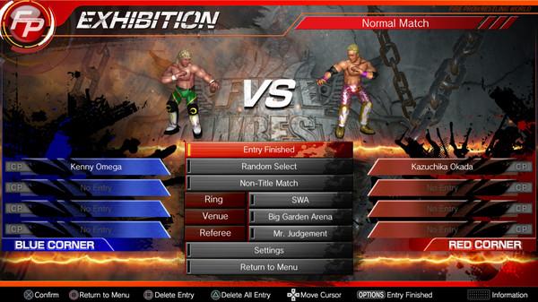 Fire Pro Wrestling World New Japan PWC Free Download