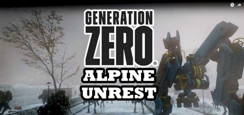 Generation Zero Alpine Unrest HOODLUM Free Download