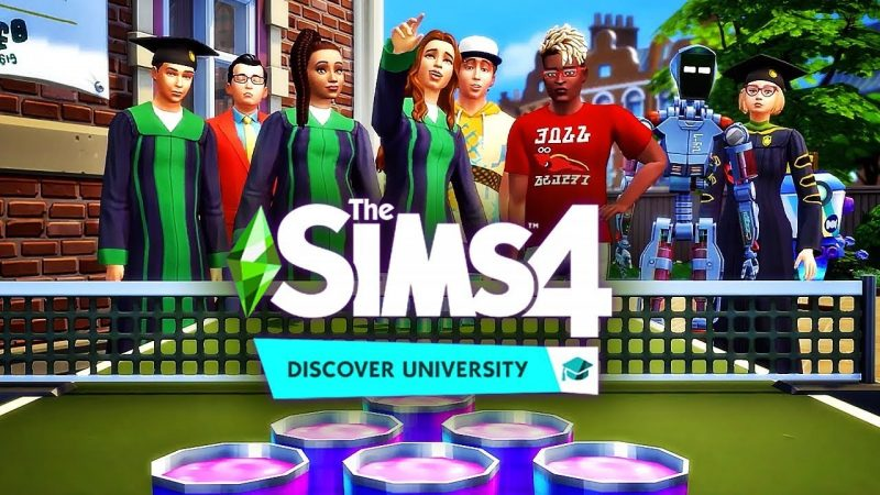 The Sims 4 Discover University CODEX Free Download