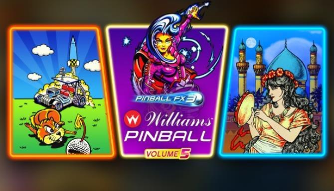 Pinball FX3 Williams Pinball Volume 5 PLAZA Free Download